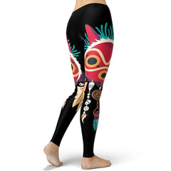Feather Mononoke Leggings
