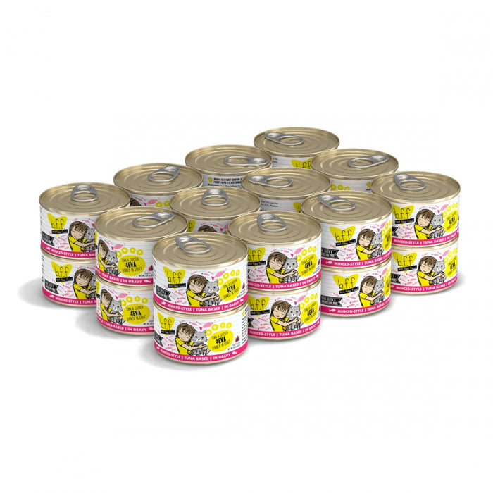 Weruva BFF Tuna & Chicken 4EVA Canned Cat Food