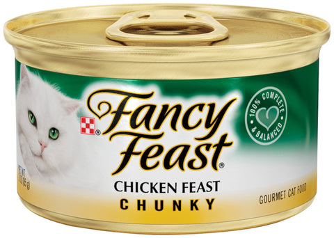 Fancy Feast Chunky Chicken Canned Cat Food