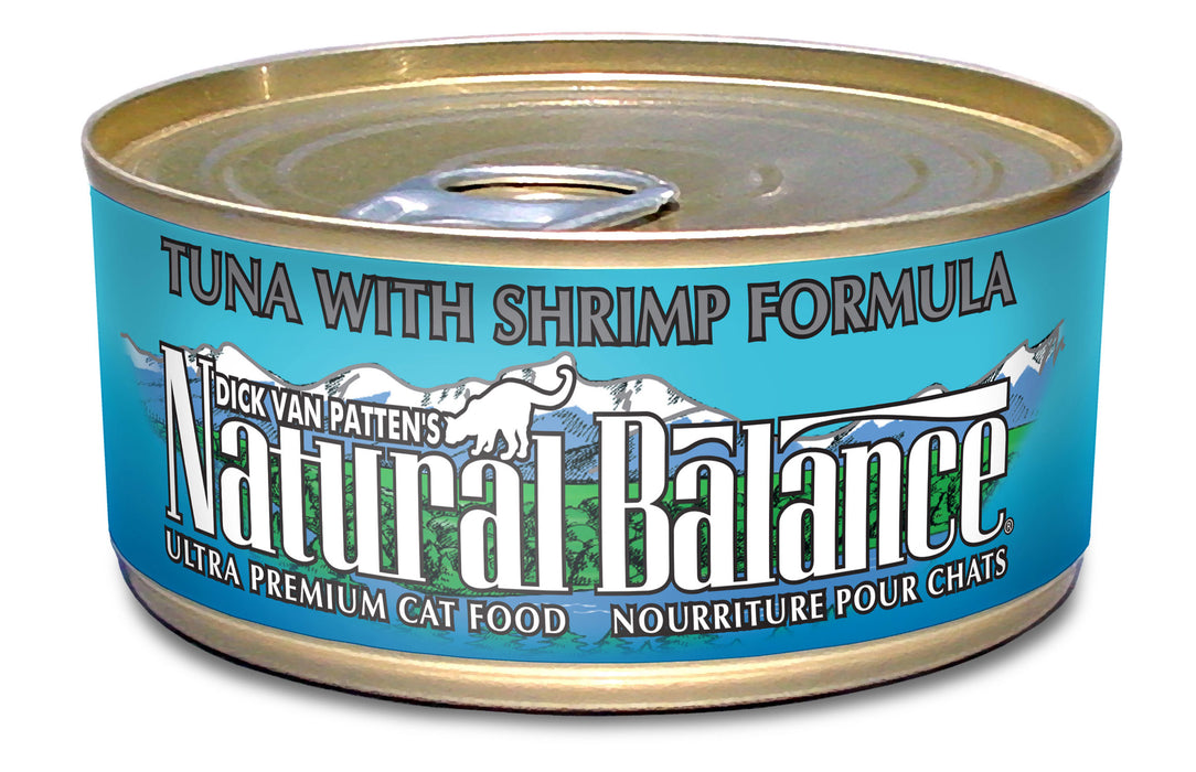 Natural Balance Tuna and Shrimp Canned Cat Food