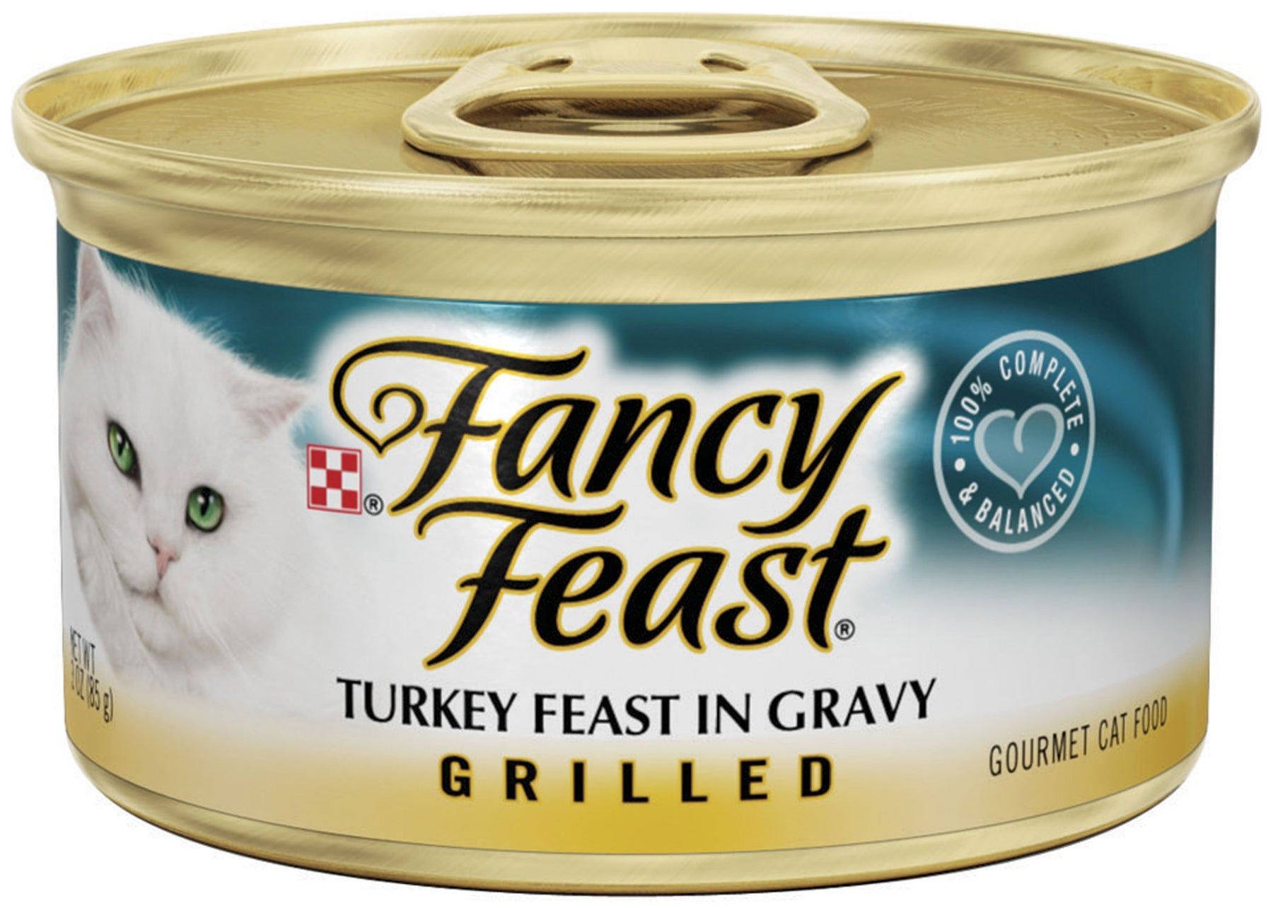 Fancy Feast Grilled Turkey Feast Canned Cat Food