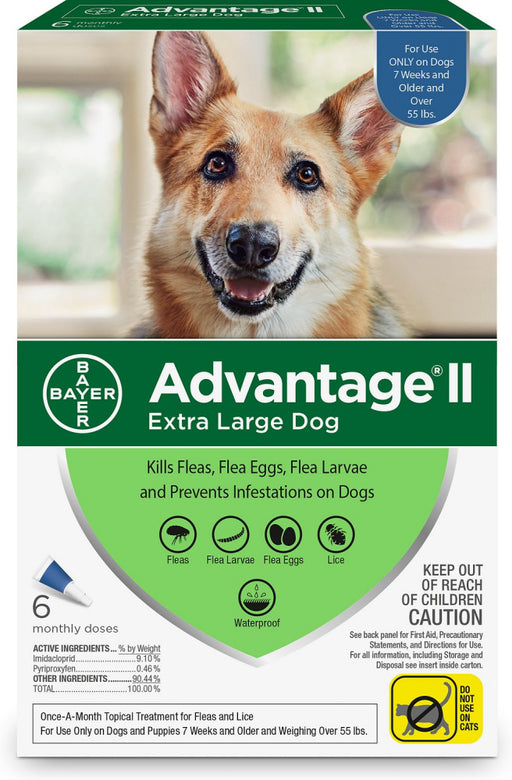 Bayer Advantage II Extra Large Dog