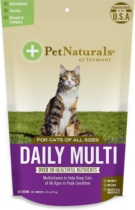 Pet Naturals of Vermont Daily Best Complete Multi Vitamin For Cats