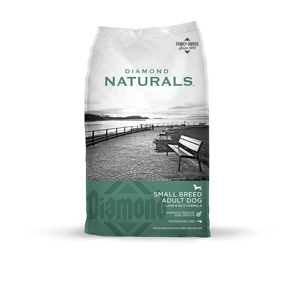 Diamond Naturals Small Breed Lamb & Rice Formula Adult Dry Dog Food