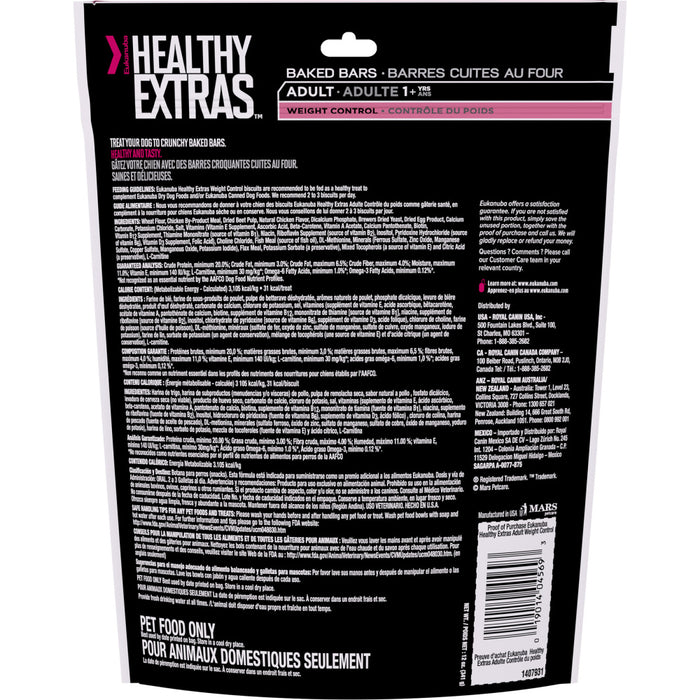 Eukanuba Healthy Extras Adult Weight Control Biscuits