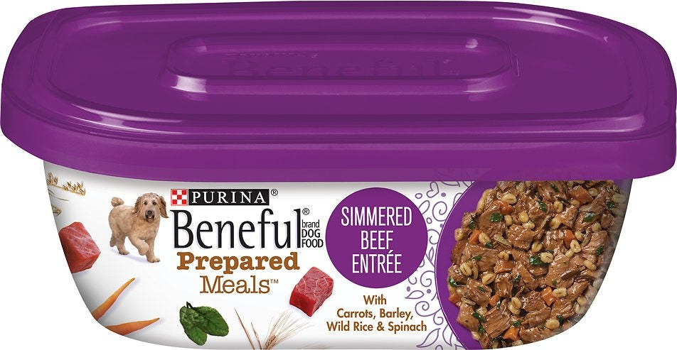 Beneful Prepared Meals Simmered Beef Wet Dog Food