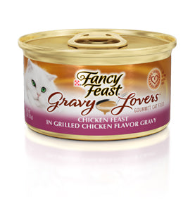 Fancy Feast Gravy Lover Chicken Canned Cat Food