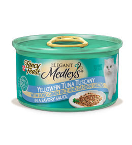 Fancy Feast Elegant Medleys Tuna Tuscany Canned Cat Food