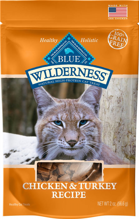 Blue Buffalo Wilderness Chicken & Turkey Cat Treats