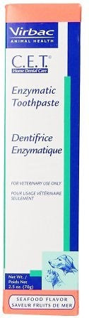 Virbac C.E.T. Tartar Control Enzymatic Toothpaste Seafood Flavor for Dogs and Cats