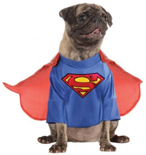 Rubies Pet Shop Superman Jumpsuit Dog Costume