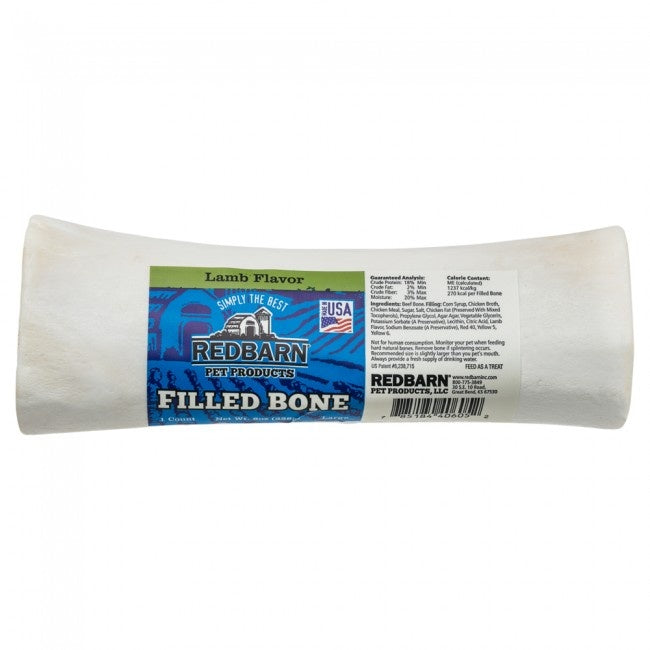 Redbarn Lamb Filled Bone Dog Treats