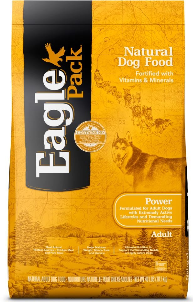 Eagle Pack Natural Power Formula Dry Dog Food