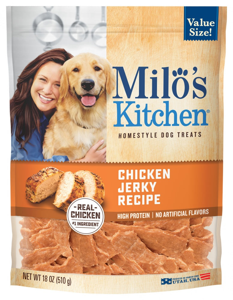 Milo's Kitchen Chicken Jerky Dog Treats