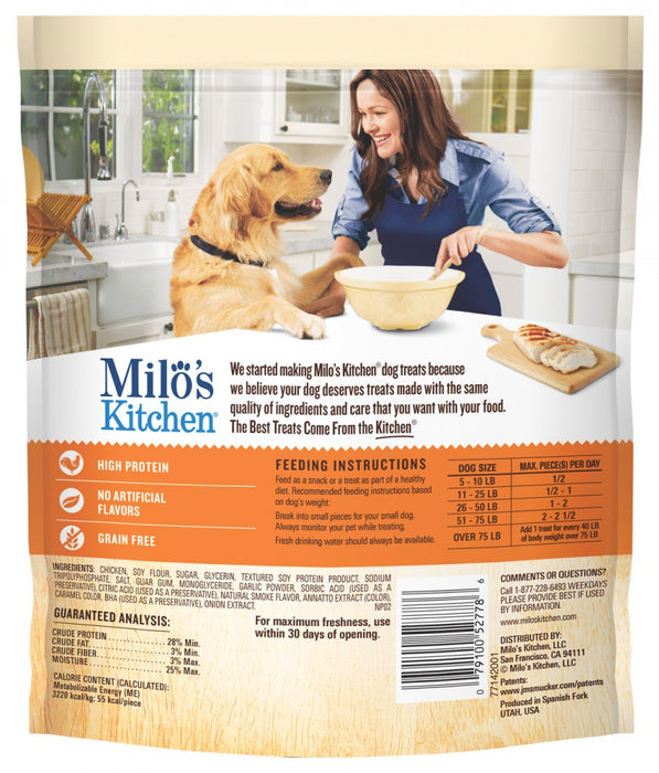 Milo's Kitchen Chicken Jerky Strips Dog Treats