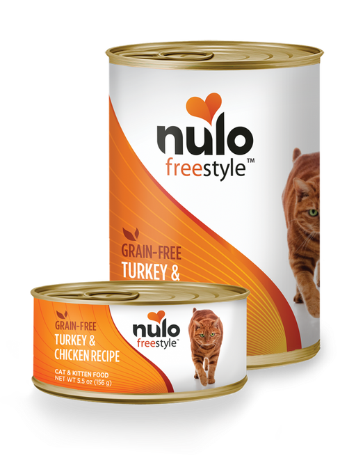 Nulo FreeStyle Grain Free Turkey & Chicken Recipe Canned Kitten & Cat Food