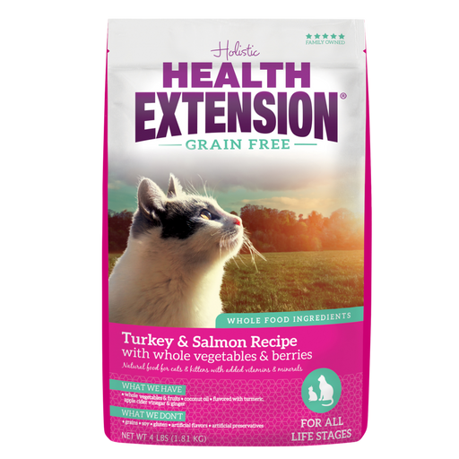 Health Extension Grain Free Salmon and Turkey Dry Cat Food