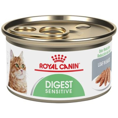 Royal Canin Feline Health Nutrition Digest Sensitive Loaf in Sauce Canned Cat Food