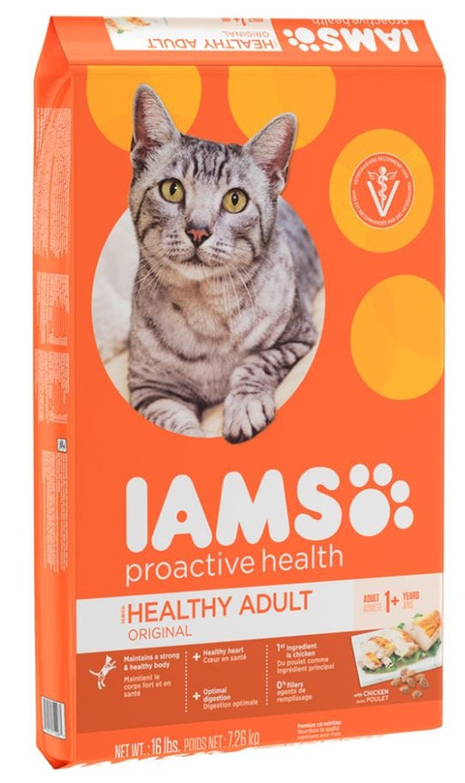 Iams ProActive Health Adult Original Chicken Recipe Dry Cat Food