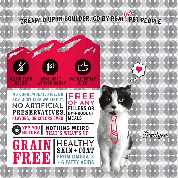 I and Love and You Grain Free Beef, Right Meow! Pate Canned Cat Food