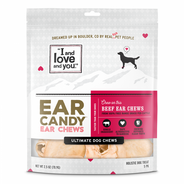 I and Love and You Grain Free Ear Candy Dog Treats