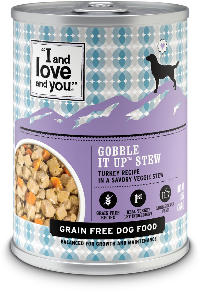 I and Love and You Grain Free Gobble It Up Stew Canned Dog Food