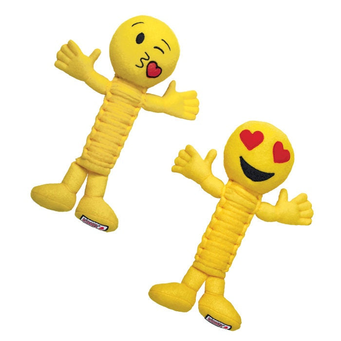 KONG Bendeez Emoji Loveez Dog Toy