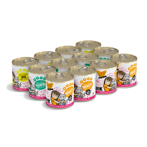 Weruva BFF Grain Free Big Feline Feast Canned Cat Food Variety Pack
