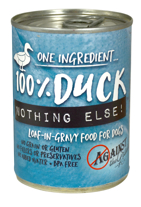 Against the Grain Nothing Else Grain Free One Ingredient 100% Duck Canned Dog Food