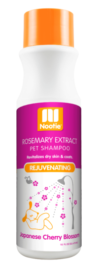 Nootie Rosemary Extract Rejuvenating Japanese Cherry Blossom Shampoo for Dogs