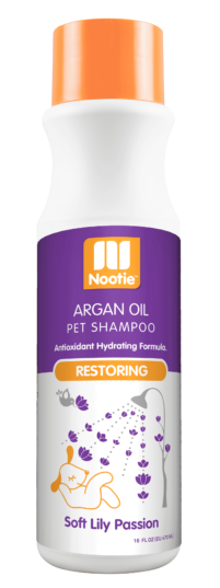 Nootie Soft Lily Passion Restoring Argan Oil Shampoo for Dogs