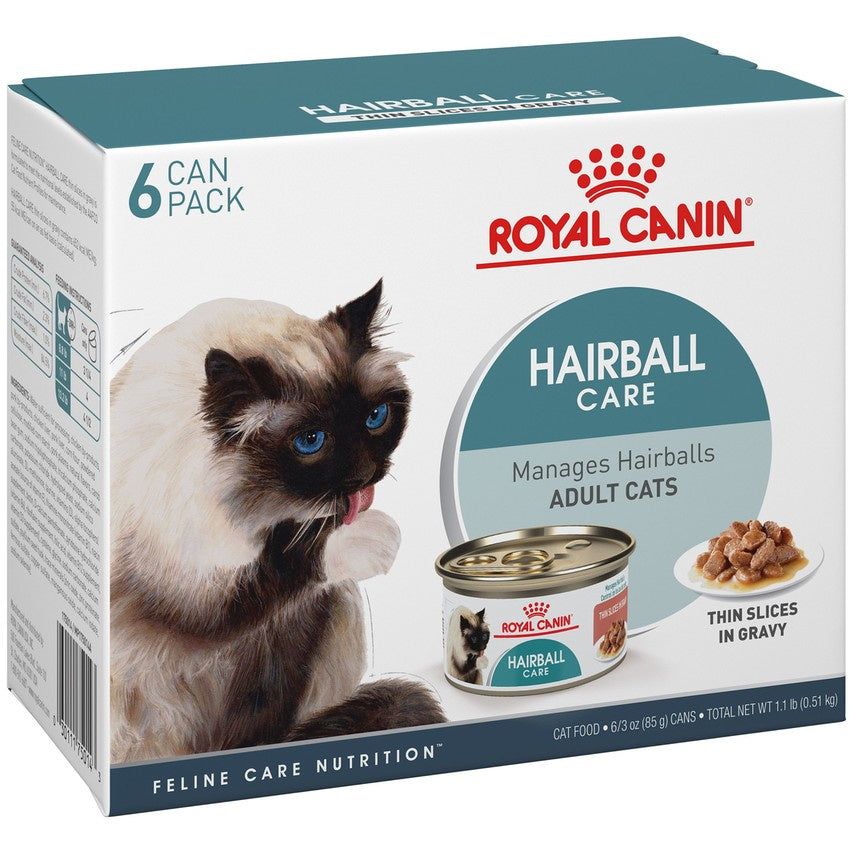 Royal Canin Hairball Care Thin Slices in Gravy Canned Cat Food