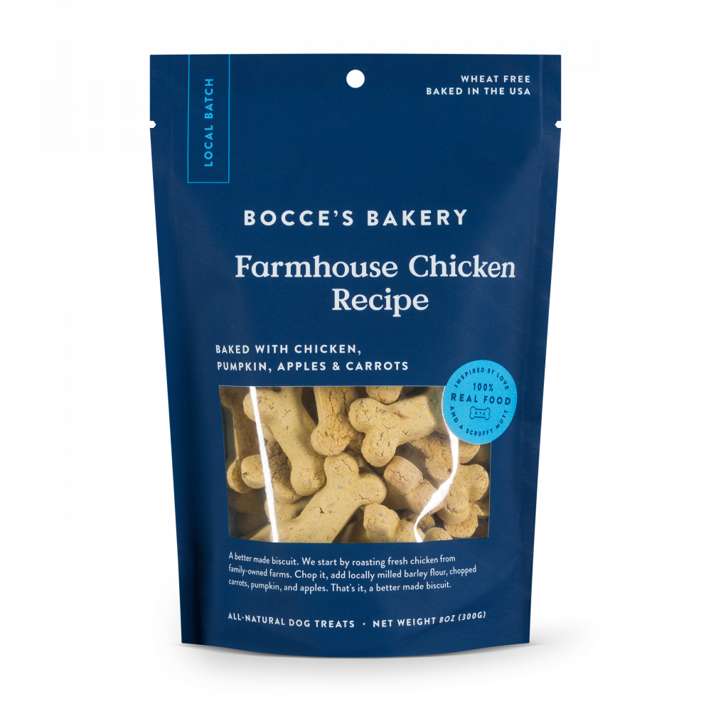 Bocce's Bakery Farmhouse Chicken All Natural Dog Biscuits