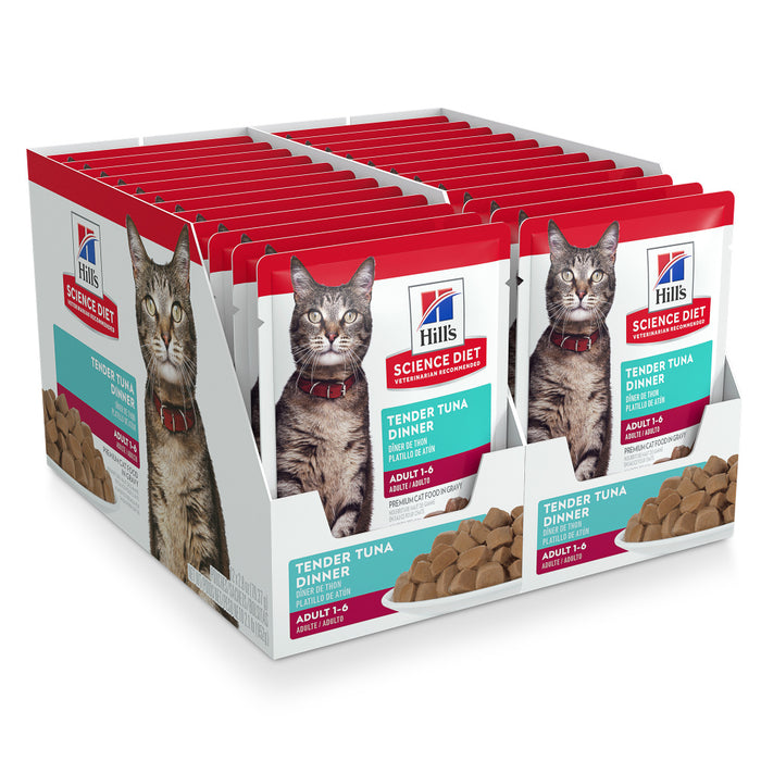 Hill's Science Diet Tender Tuna Dinner Adult Wet Cat Food