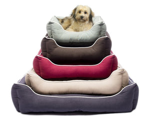 Hypoallergenic Dog Beds : Eco-friendly pet beds, eco-friendly filling, hypoallergenic luxury dog beds are the ultimate in both style and comfort for your furry family member.