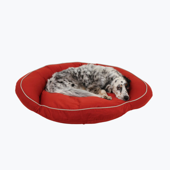 Classic Polyester Canvas Bolster Dog Bed
