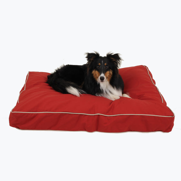 Classic Polyester Canvas Jamison Rectangle Dog Bed