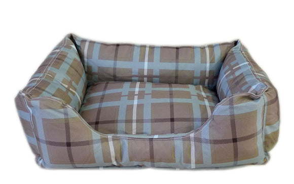 Brutus Tuff Kuddle Bolster Lounge Dog Bed