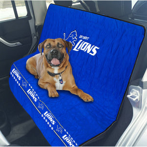 Detroit Lions Officially Licensed NFL Car Seat Cover for Dogs