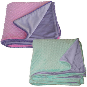 Luxury Faux Fur People-Sized Throws - Lavender Plush