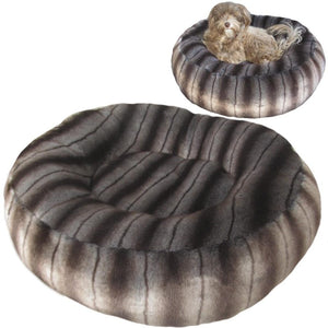 Cloud Nine Dog Beds - Round, Rectangle, Square - Mink Faux Fur
