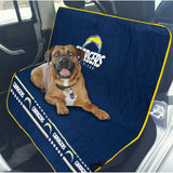 Los Angeles Chargers Officially Licensed NFL Car Seat Cover for Dogs