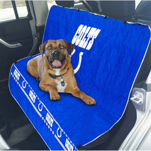 Indianapolis Colts Officially Licensed NFL Car Seat Cover for Dogs