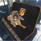 Cincinnati Bengals Officially Licensed NFL Car Seat Cover for Dogs