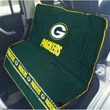 Green Bay Packers Officially Licensed NFL Car Seat Cover for Dogs