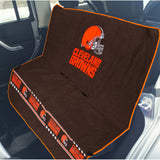 Cleveland Browns Officially Licensed NFL Car Seat Cover for Dogs