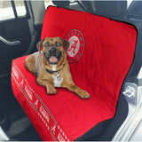 Alabama Crimson Tide Officially Licensed NCAA Car Seat Cover for Dogs