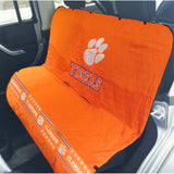 Clemson Tigers Officially Licensed NCAA Car Seat Cover for Dogs