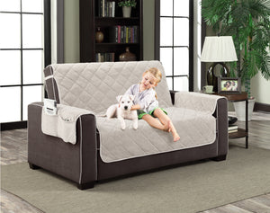 Comfy Pooch Collection All Season Plush Microfiber Furniture Protectors