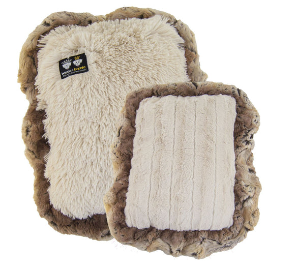 Eco-Friendly Hybrid Crate Dog Pad - Blondie & Natural Beauty by Bessie + Barnie
